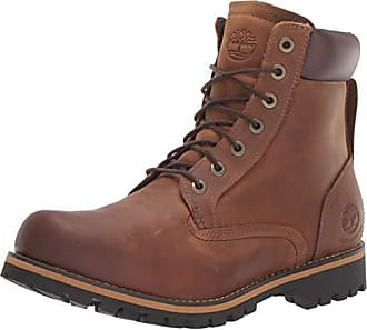 Timberland Mens Rugged 6-Inch Waterproof Fashion Boots,Red Brown, 10 M US