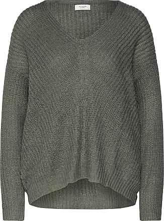 Jacqueline de Yong Womens 15161280 Jumper, Green (Thyme Thyme), 12 (Size: Medium)