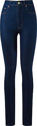 Amapô Calça jeans cintura alta - Azul