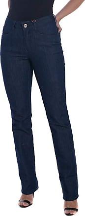 Osmoze Calça Jeans Osmoze Mid Rise Slim Azul 36