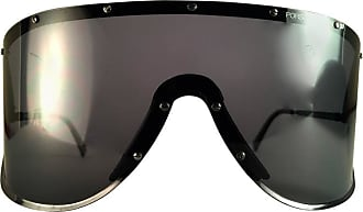 7e68d35a902c Porsche Design Mint Vintage Porsche Design 5620 Black Shield Collector Yoko  Ono Sunglasses