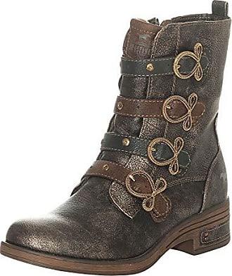 8834274e9100d4 Mustang Shoes Damen Schuhe Stiefeletten 1293-502-221 Bronze 40