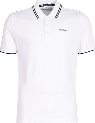 XXXXL BEN SHERMAN Men/'s Gingham Trimmed Polo T-Shirt Cotton MC10640 Grey S