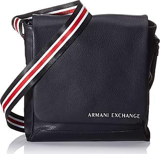 A X Armani Exchange Crossbody Bag, Mens Black, 10x10x10 cm (W x H L)