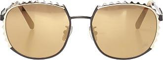 Philipp Plein Sunglasses With Logo Womens Gold