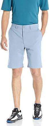 PGA TOUR Short hybride à devant plat pour homme, bleu poudre chiné, 32