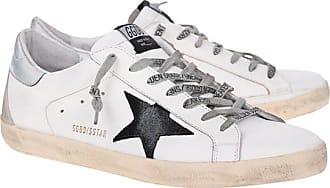 Golden Goose Superstar Silver White