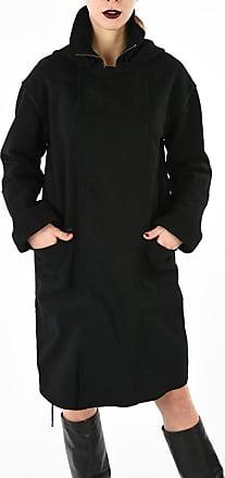 Diesel BLACK GOLD cappotto wrap WERENICE in lana vergine taglia 40