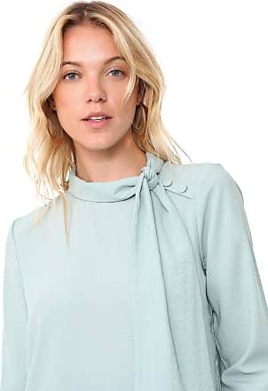 Vero Moda Blusa Vero Moda Laço Verde