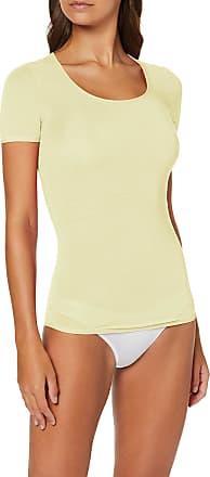 Schiesser Womens Personal Fit Shirt 1/2 Arm Undershirt, Yellow (Gelb 600), M