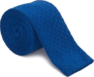 HUGO BOSS GRAVATA TIE KNITTED - AZUL