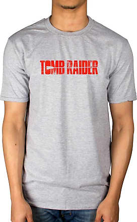 AWDIP Official Tomb Raider Logo T-Shirt Grey