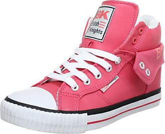 best sneakers 82cb4 b73d5 British Knights ROCO B31-3720, Damen Sneaker, Pink (fuchsiablack 1