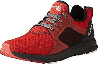 Ariat Ariat Mens Fuse Athletic Shoe, Rodeo Red Mesh, 10.5 D US