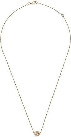 Origin 31 Colar Sherbert Pip de ouro 9k com diamante - Dourado