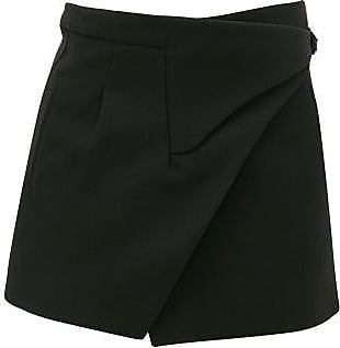 Wardrobe.NYC Wardrobe.nyc - Release 05 Merino-wool Wrap Mini Skirt - Womens - Black