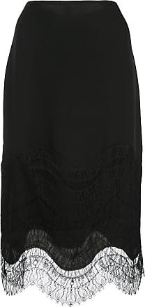 Kiki De Montparnasse lace-detail skirt - Black