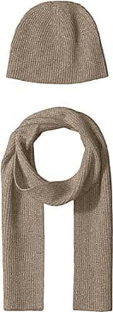 Williams Cashmere Basic Rib Hat & Scarf Gift Set