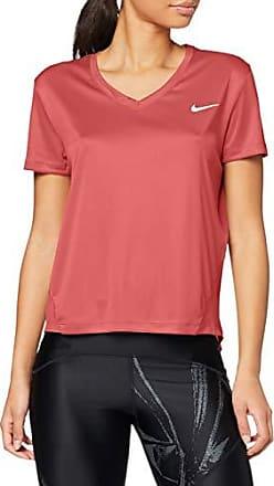 Nike Shirt V Neck Miler hellblau Damen