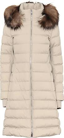 Burberry Faux-fur trimmed down coat