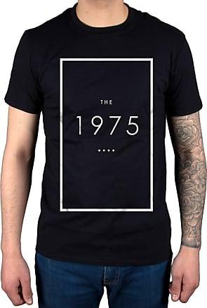 AWDIP Official The 1975 Original Logo T-Shirt, Black, XXL