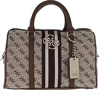 a877259f4e3db Guess Vintage Box Satchel Brown Bowling Bag braun