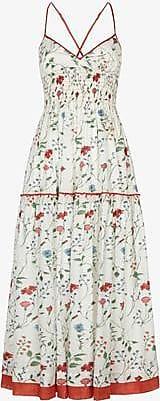 Three Graces London Emma Dress in Meadow