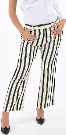 True Royal pantalone dritto SYLVIE bengal striped taglia 46