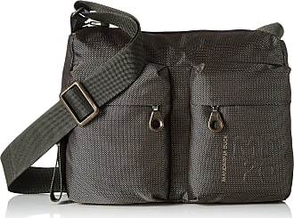 Mandarina Duck Womens Md20 Tracolla Messenger Bags, Brown Pirite, 10x21x28.5 cm (B x H x T)