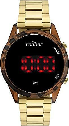 Condor Relógio Condor Feminino Led Dourado COJHS31BAH7S