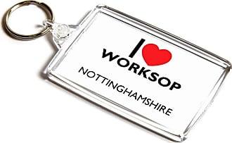 ILoveGifts KEYRING - I Love Worksop - Nottinghamshire