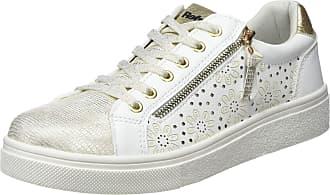 Refresh Womens 69953 Low-Top Sneakers, White (Blanco Blanco), 4.5 UK