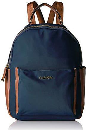 c843cb13049 Calvin Klein Belfast Front Pocket Nylon Backpack Shoulder Bag, NAVY, One  Size