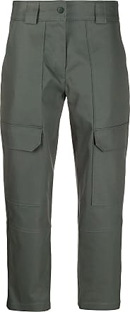 Yves Salomon cropped cargo trousers - Green