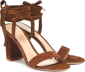 Gianvito Rossi Exclusive to Mytheresa - Gaia 85 suede sandals