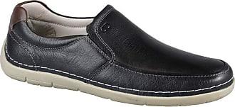Democrata Sapato Masculino Sharp Preto Democrata - 175101