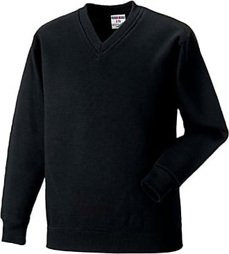 Russell Athletic Russell 272M V Neck Sweatshirt Black 2XL