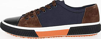 Prada Fabric Sneakers with Suede Inserts Größe 6