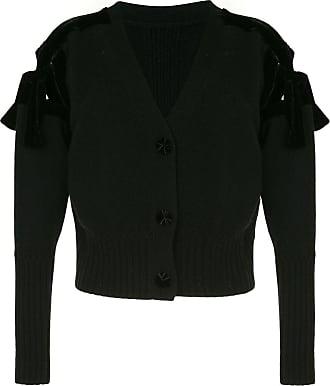 Onefifteen tie sleeve cardigan - Black