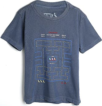 Reserva Mini Camiseta Reserva Mini Infantil Estampada Azul