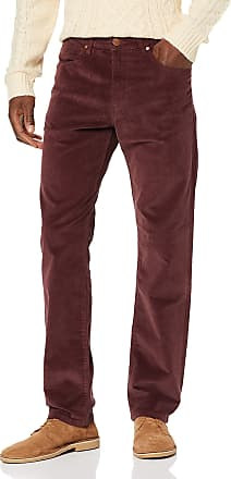 Wrangler Mens Greensboro Straight Jeans, Red (RED MAHOGANY 17M), 31 W/ 32 L