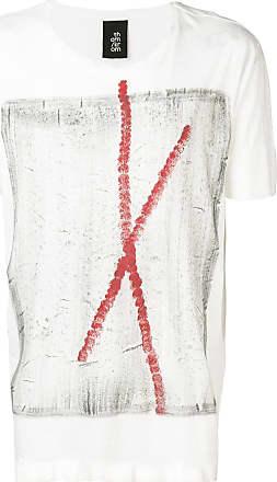 Thom Krom Camiseta estampada - Branco