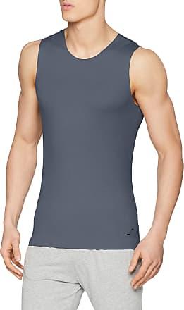 sloggi Mens S Sublime Tank Vest, Blue (Blue - Dark Combination M), Large