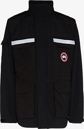 Canada Goose Mens Black Photojournalist Hooded Jacket