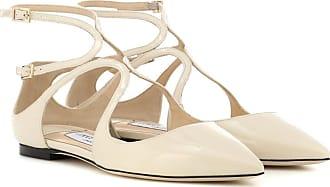 Jimmy Choo London Lancer patent leather ballet flats