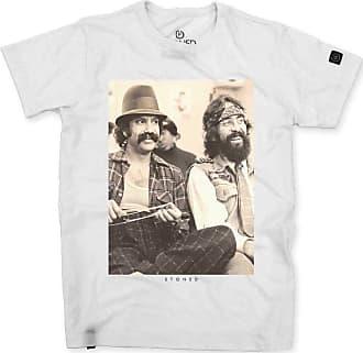 Stoned Camiseta Masculina Cheech and Chong Two - Tsmcheech2-br-02
