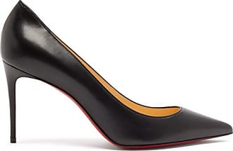 Christian Louboutin Kate 85 Leather Pumps - Womens - Black