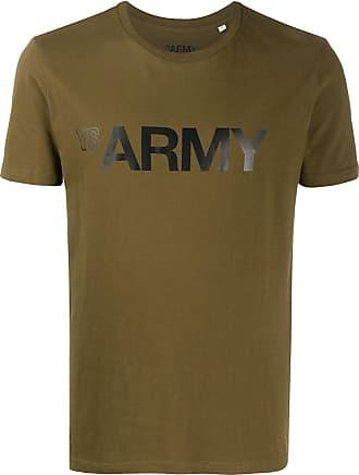Yves Salomon - Army Army print T-shirt - Green