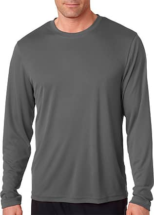 Hanes Cool DRI Performance Mens Long-Sleeve T-Shirt - Best-Seller, 482L, XL