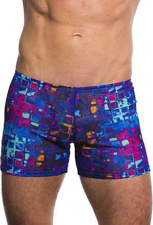 Kiniki Mosaic Tan Through Swim Shorts - Limited Edition Print
